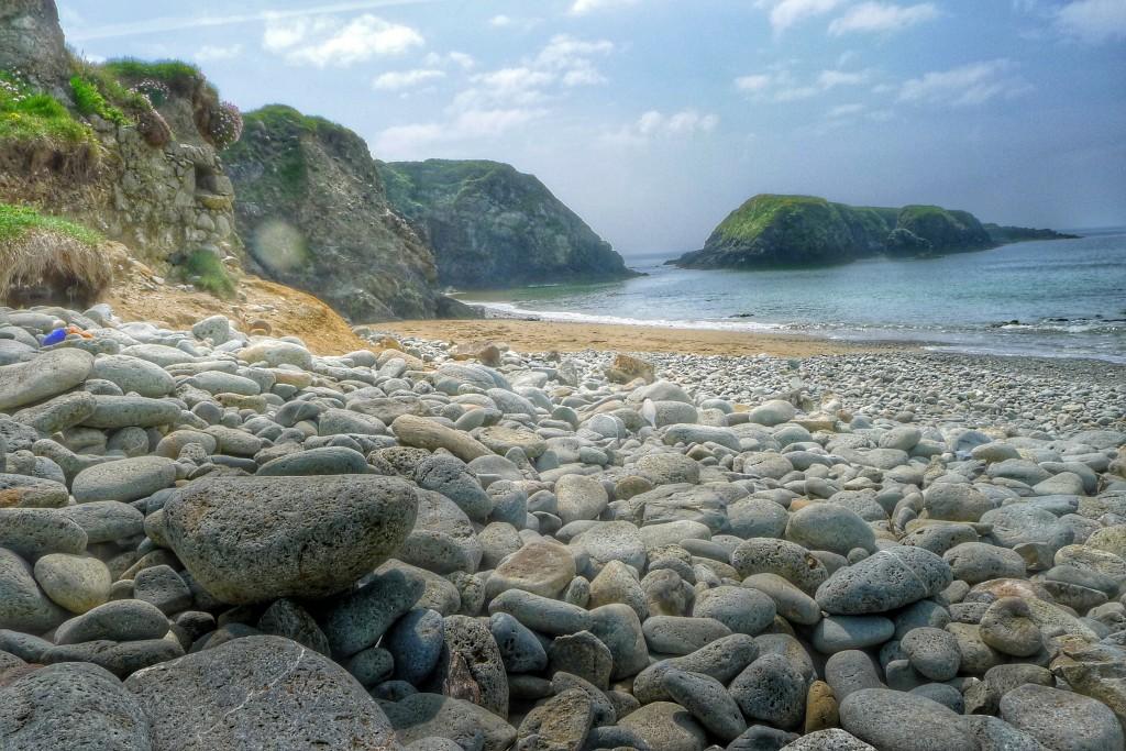 A nice rocky beach for a bit of a break.