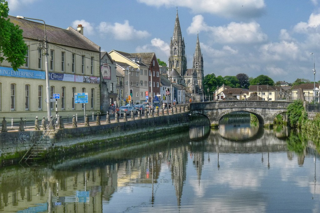 Cork has its charms. There are a bunch of cathedrals and bridges that add to its viewing pleasure.