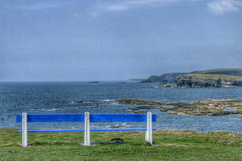 Another view of the Kilkee Cliffs on a sunny June day.