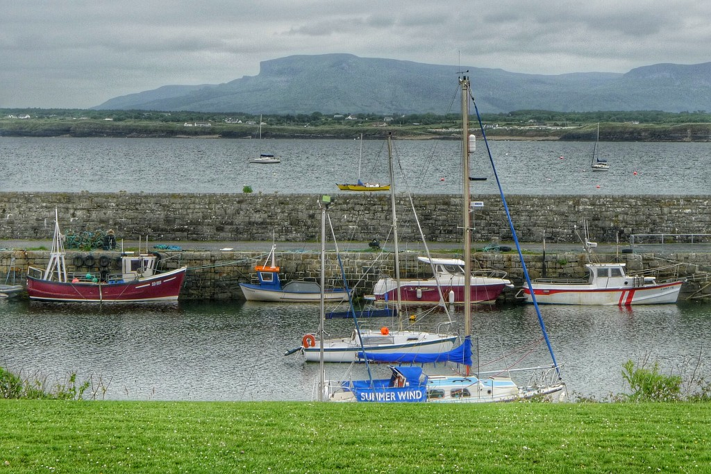 The harbor at Mullaghmore Head.