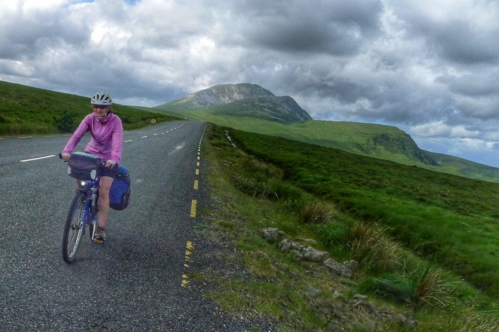 After the climb around Mt. Errigal, we had a fast and fun descent.
