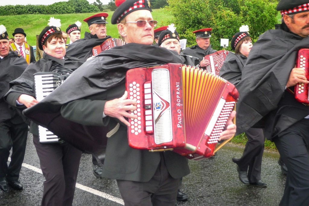The accordion is a staple instrument on the emerald isle.