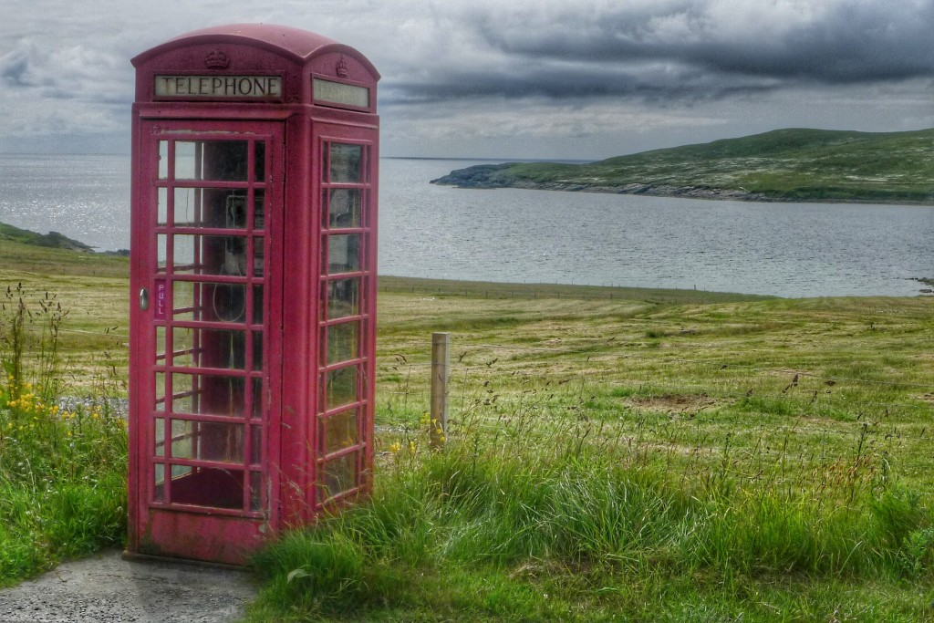 The famous red phone booths in the UK are still littered across the country, remnants of the pre-digital age.
