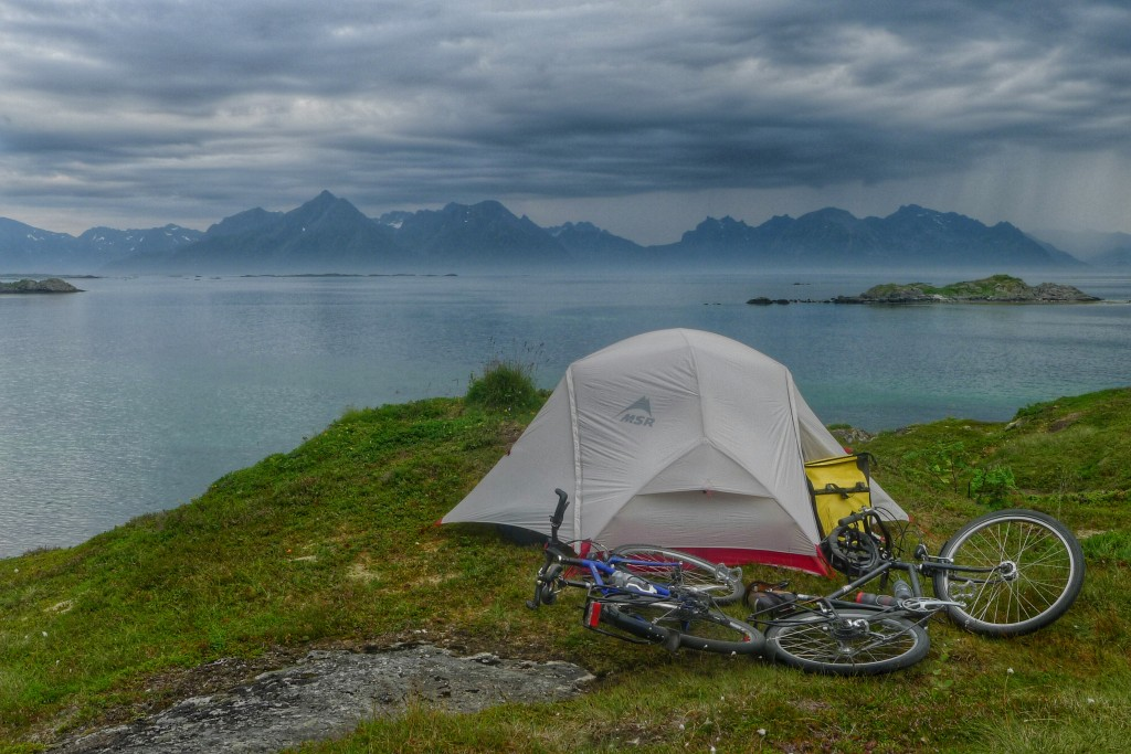 Wild camping in Norway is great!