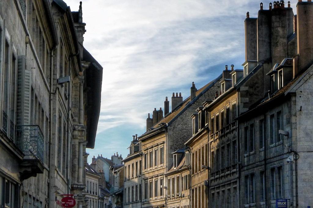 A little piece of Besançon's skyline.