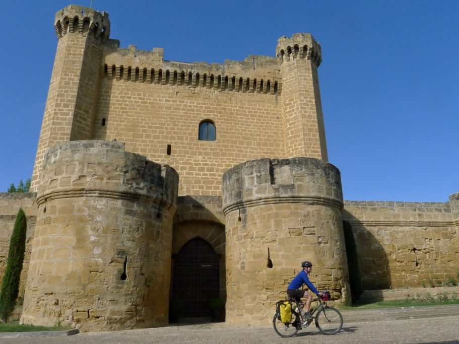 This castle in the village of Sajazarra, built in the 12th and 13th centuries, was built of local sandstone.