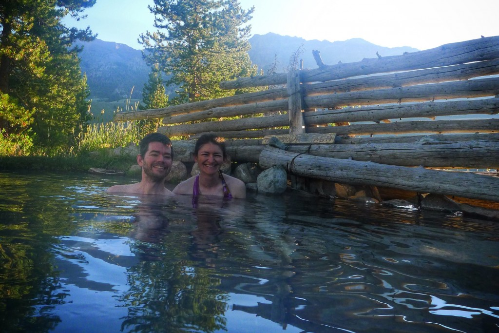 Thank you Russian John for finding this hot spring.